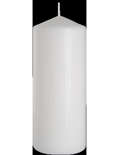 Świeca słupek biała 80x200 BISPOL