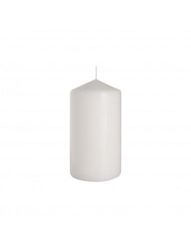 Świeca słupek biała 80x150 BISPOL