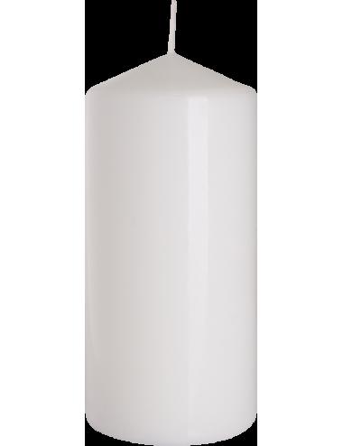Świeca słupek biała 70x150 BISPOL