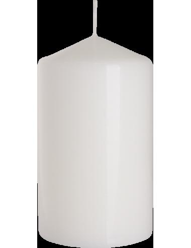 Świeca słupek biała 70x120 BISPOL