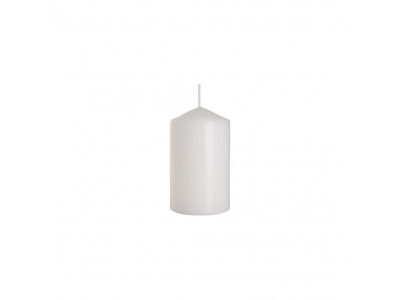 Świeca słupek biała 60x150 BISPOL