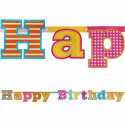 "Baner ""HAPPY BIRTHDAY"""