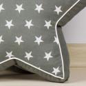 Poduszki dekoracyjne gwiazdy rękodzieło