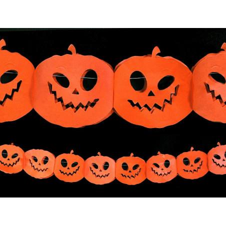 Girlanda - Dynie na halloween