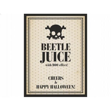Etykieta - Beetle Juice