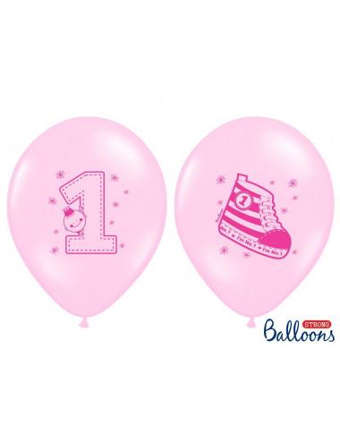 "Balony na roczek - I""m No.1 -Ttrampek"