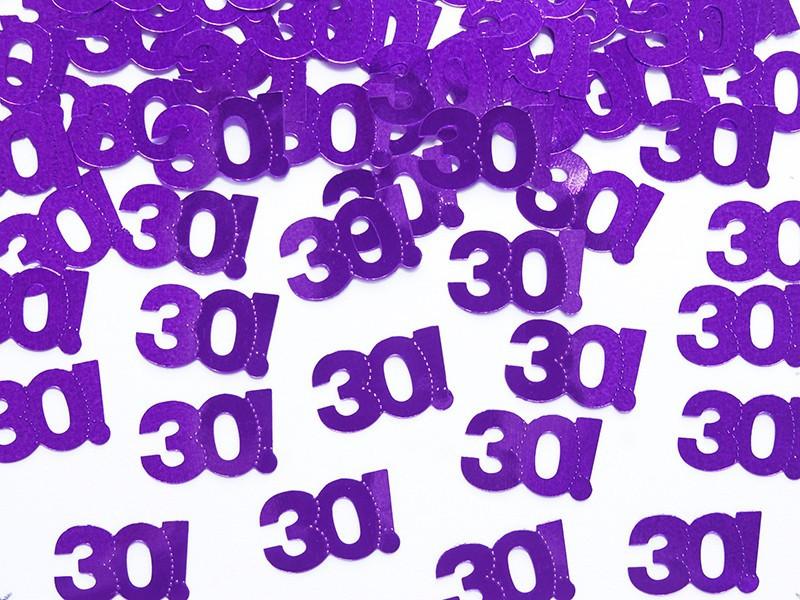 Konfetti - liczba 30