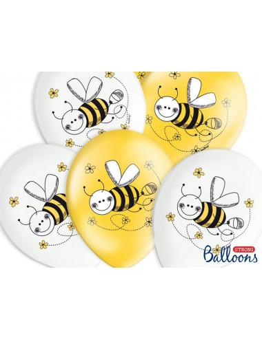 Balony pastelowe Pszczółka