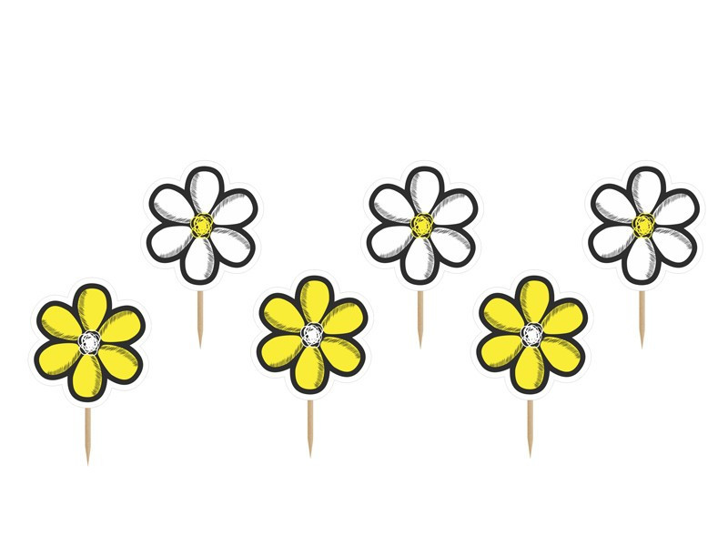 Piki do babeczek kwiatki