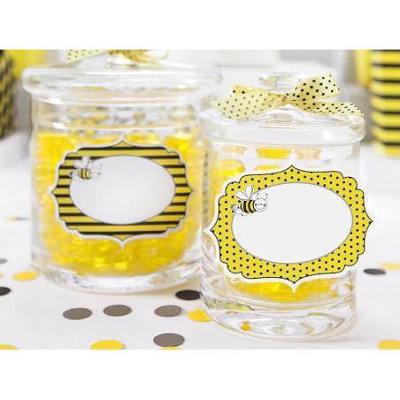 Etykietki - naklejki Pszczółka
