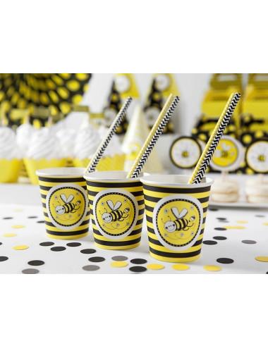 Kubeczki papierowe pszczółka