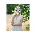 Maska papierowa zwierzęta