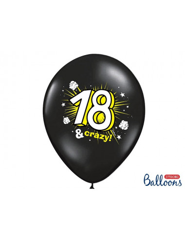 Balony pastelowe osiemnastka