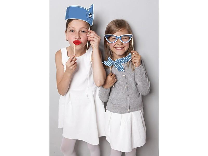 Zestaw do zdjęć Stewardessa Samolocik