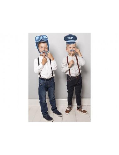 Zestaw do zdjęć Pilot Samolocik