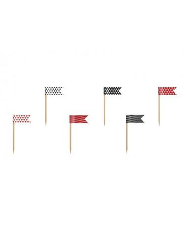 Flagi na piku Biedronka