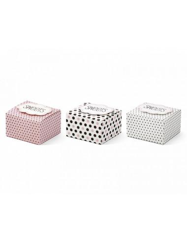 Mini pudełka na słodkości podziękowania