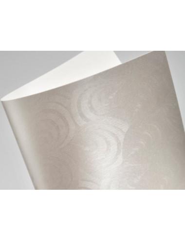 Papier ozdobny perłowy Pawie pióro