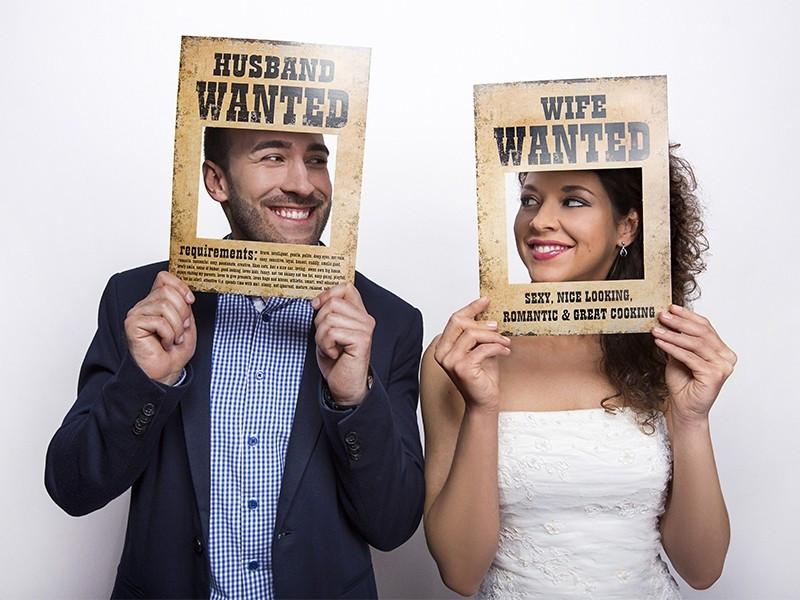 Tabliczki Husband Wife Wanted