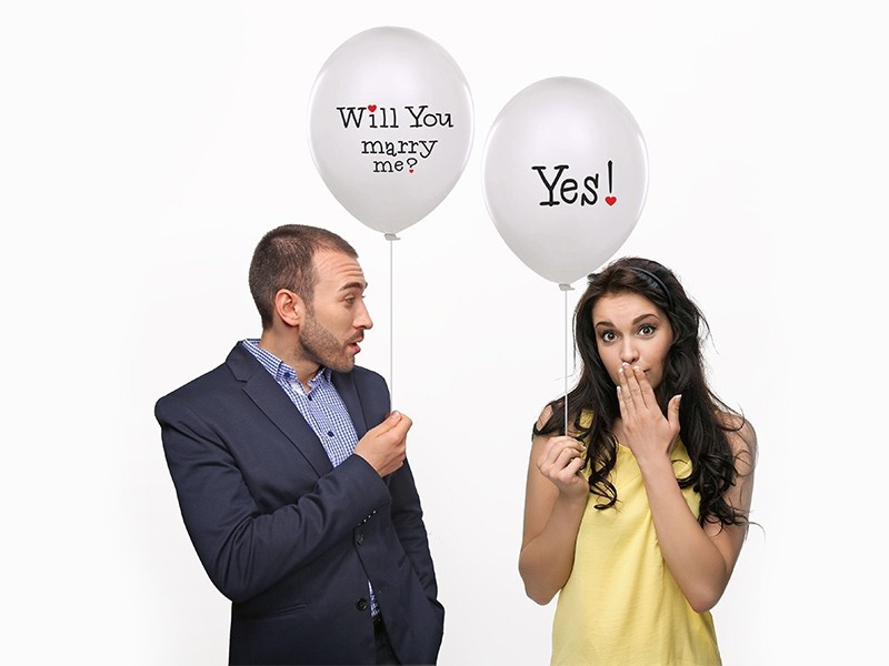 Balon Will You Marry Me? Yes!