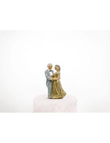 Figurka na tort Złote Gody