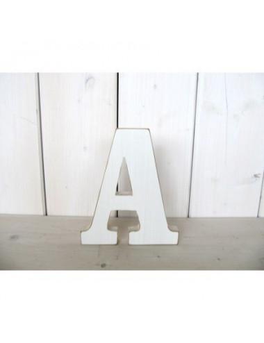 Litera drewniana A - Z