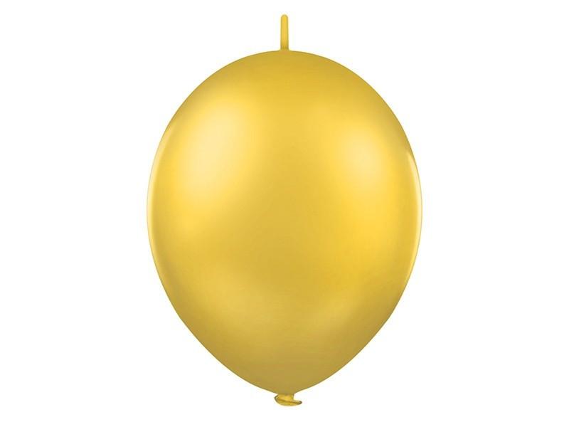Balony z łącznikiem metaliczne