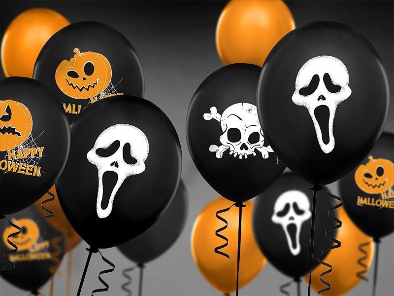 Balony Halloween Krzyk