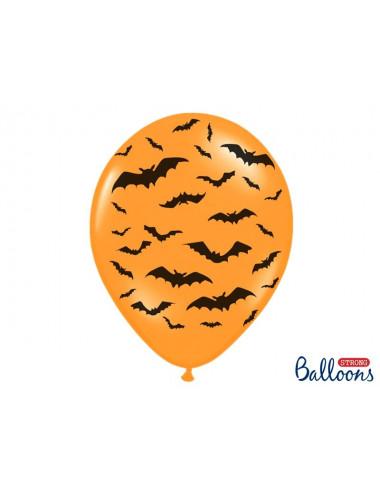 Balony halloween nietoperze