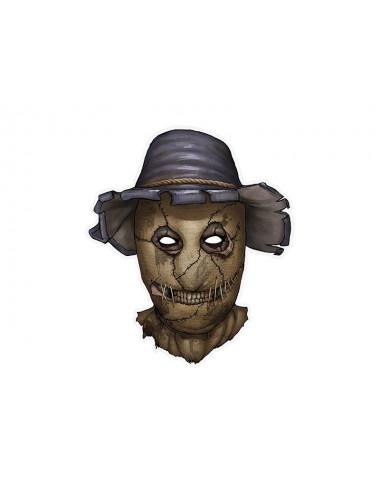 Maska papierowa Strach na wróble