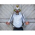 Maska papierowa Klaun