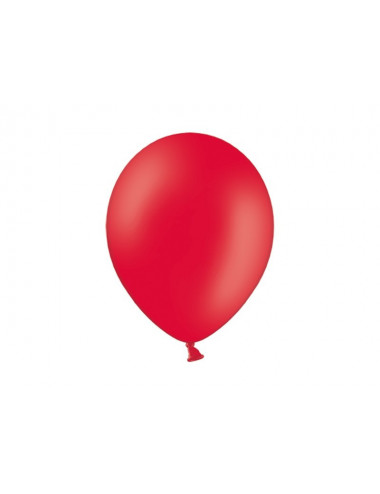 "Balony pastelowe 14"" BELBAL czerwone"