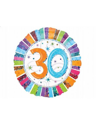 Balon foliowy 30 urodziny