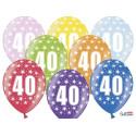 Balony metaliczne z nadrukiem 40