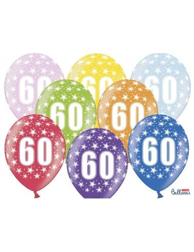 Balony metaliczne z nadrukiem 60