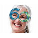 Okulary cyfry 60 urodziny