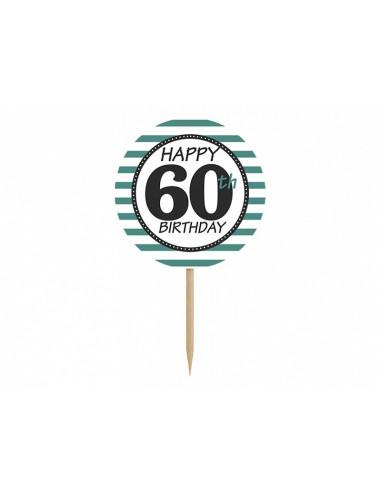 Karteczki na piku 60 urodziny