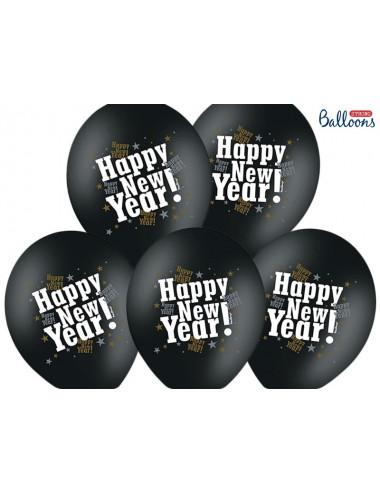Balony Sylwester Happy New Year