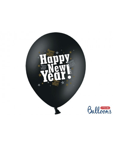 Balony Sylwester Happy New Year