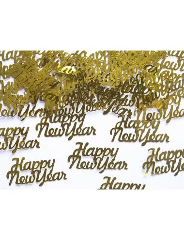 Konfetti Happy New Year Sylwester