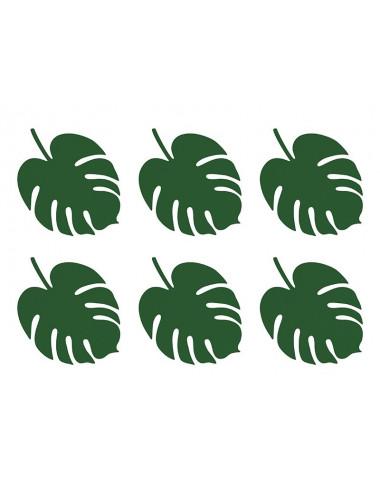 Dekoracyjne liście tropikalne Aloha