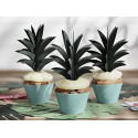 Karteczki na liku liście ananas Aloha