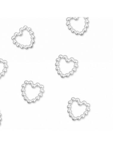 Aplikacje - drobne serduszka perelkowe