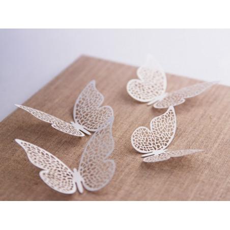 Dekoracje papierowe Motyl