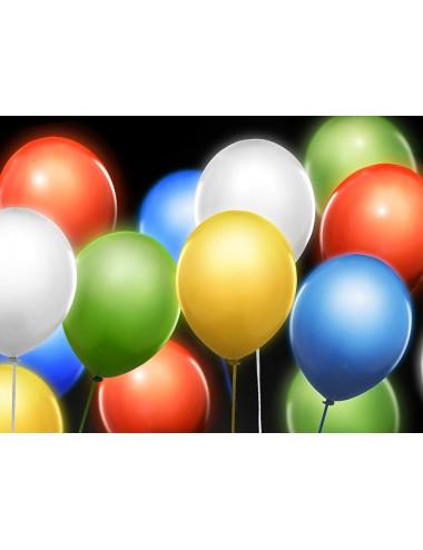 Balony świecące LED