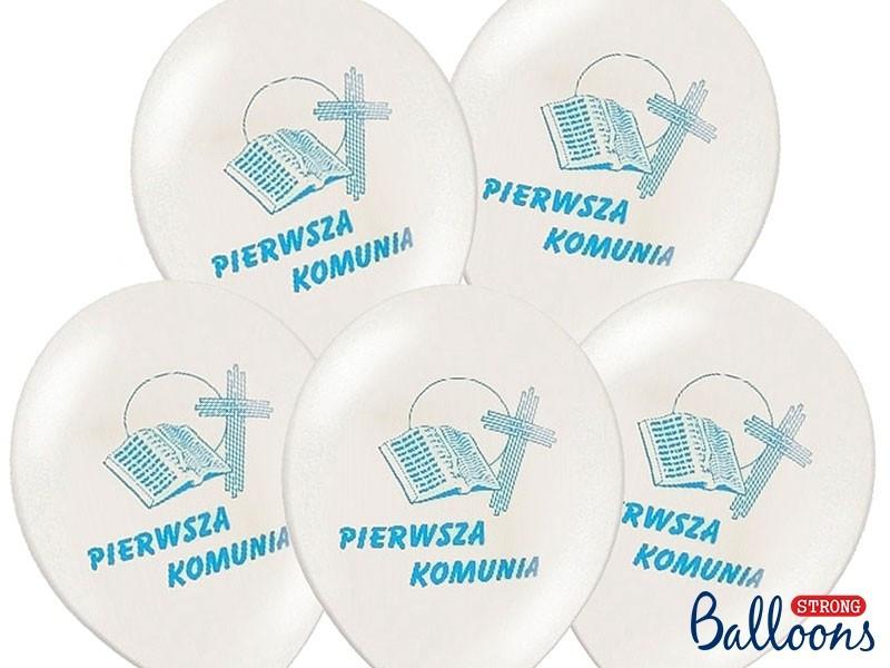 Balony I Komunia Święta