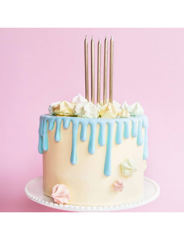 Świeczki urodzinowe gładkie